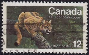 Canada - 1977 - Scott #732 - used - Eastern Cougar