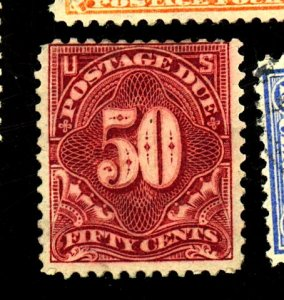 U.S. #J44 MINT FINE NG CREASE HR Cat $375