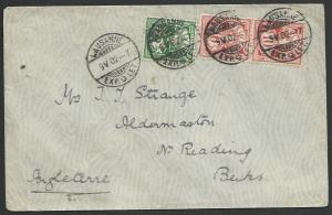 SWITZERLAND 1902 cover Lausanne to UK......................................27462