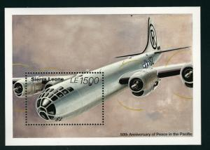 Sierra Leone #1806 Airplane SS  MNH...High Quality Souvenir Sheet!