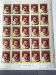 Barbuda Prince William  mint never hinged  stamps sheet ref R23576