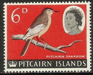 Pitcairn Islands 1964 Scott# 44 MH (gum disturbance)