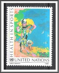 UN New York #526 Health In Sports MNH