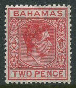 STAMP STATION PERTH Bahamas #103B KVI Definitive 1938 MLH CV$0.85