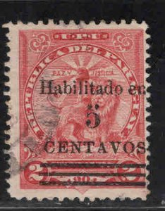 Paraguay Scott 147 Used surcharged stamp