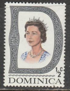 Dominica  Scott No. 268  (N**)