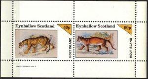 {E149} Eynhallow Scotland Wild Cats Sh.2 MNH Cinderella !!