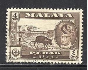 Malaya - Perak Sc # 129 used