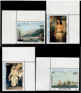 French Polynesia #' C187-C190 - Mint - Original Gum - Never Hinged