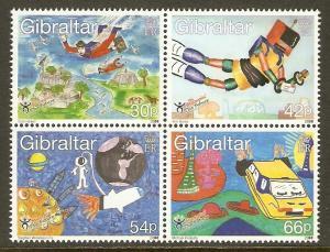 Gibraltar #828-31 NH Stampin' the Future BLOCK