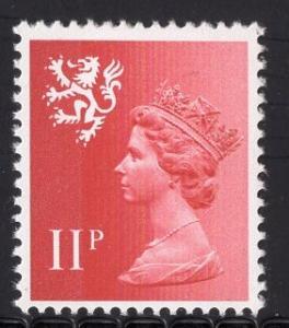 Great Britain Scotland  #SMH15 11p MNH Q E II   Machin