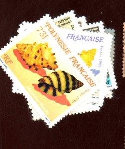FRENCH POLYNESIA #510-14 523-5 MINT VF OG HR Cat $14