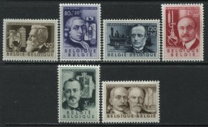 Belgium Semi-Postal set mint o.g. hinged