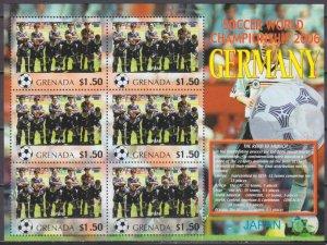 2006 Grenada 5729KL 2006 FIFA World Cup Germany( Japan ) 9,00 €