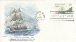 1978, Discovering Hawaiian Islands, Fleetwood, FDC (E7597)