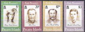 Pitcairn Islands  #399-402  MNH CV $7.40 (Z6159)