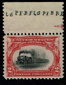 Scott #295 VF/XF-OG-NH.