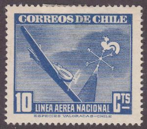 Chile C69 Plane & Weather Vane 1943