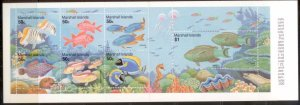 Marshall Islands 1993  SC# 434-40a S/S MNH L189