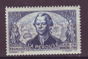 J25045 JLstamps 1942 france set of 1 mh #b129 count de la perouse
