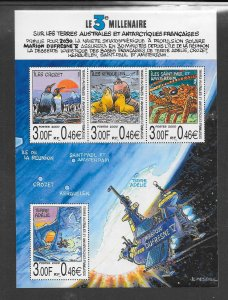 FRENCH SOUTHERN ANTARCTIC TERRITORY #274 (MS)  MNH