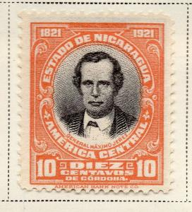 Nicaragua 1921 Early Issue Fine Mint Hinged 10c. 323647