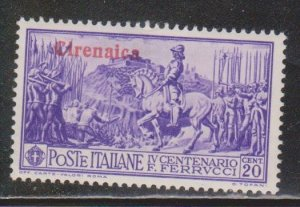 CIRENAICA Scott # 38 MH - Stamp Of Italy With Overprint