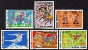 Tunisia 726-731 blocks/4,MNH.Michel 938-943. Traditional Arab calligraphy,1978.