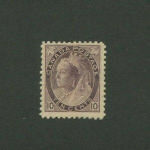 1898 Canada Postage Stamp #83 Mint Hinged F/VF Original Gum