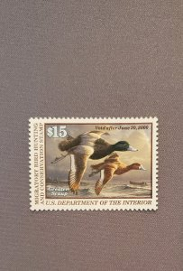 RW66, Greater Scaup, Mint OGNH, CV $50.00