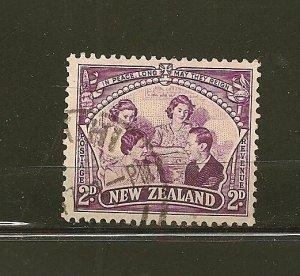 New Zealand 250 Royal Family Used