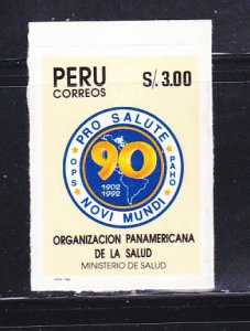 Peru 1025 Set MH Pan American Health Organization