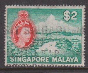 Singapore Sc#41 Used