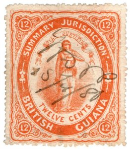 (I.B) British Guiana Revenue : Summary Jurisdiction 12c (1876)