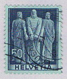Switzerland 270 Used The three swiss 1941 (BP29014)