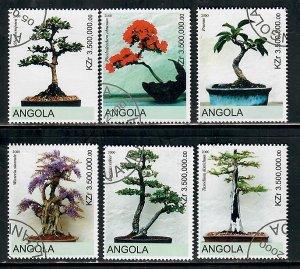 Angola Used Bonsai plants complete set CTO