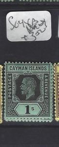 CAYMAN ISLANDS (P1111B)   KGV     1/-      SG 48B      VFU