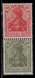 Germany Scott # 124, 126, mint nh, se-tenant, Mi# S23