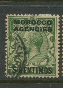 STAMP STATION PERTH GB Morocco Agencies Overprint #71 FU CV$21.00.