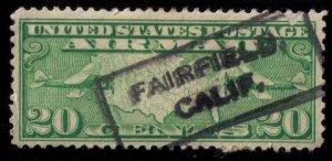 US Sc #c9 used Fairfield,Calif Cancellation VF
