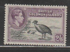 Solomon Islands   SC 77  Mint  Hinged