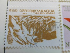 Nicaragua 1983 10cor fine used stamp A11P11F91