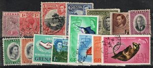 2011 GRENADA: QV - QE2 Collection. Inc Mint, Used, Comms on Stockcard.