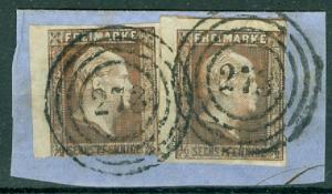 States - Prussia - Scott 2 Pair