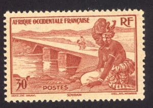 French West Africa 37 MH