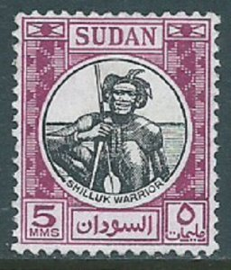 Sudan, Sc #102, 5m Used