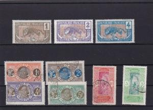 FRENCH COLONIES ON STOCK CARD  R3219