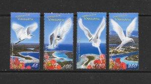 BIRDS - VANUATU #957-60 REEF HERON  MNH