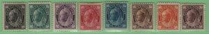 $Canada Sc#66-73 M/H/F-VF complete set, Cv. $1465