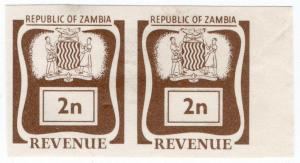 (I.B) Zambia Revenue : Duty 2n (printer's proofs)